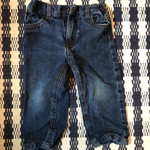 Nautica dark wash denim jeans 24 months